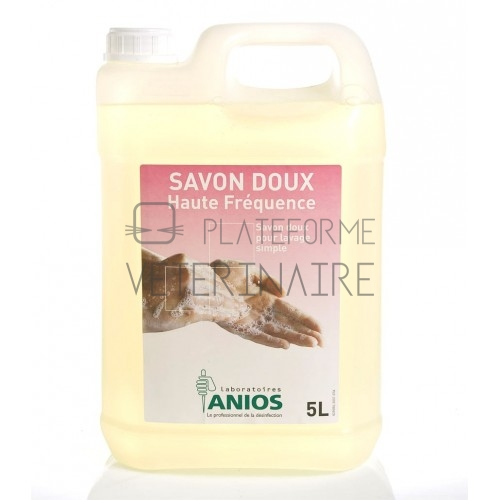 SAVON DOUX HAUTE FREQUENCE - 4 BIDONS DE 5 LITRES