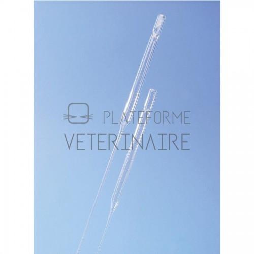 PIPETTE PASTEUR NON STERILE LONG. 230 MM (X 1000)