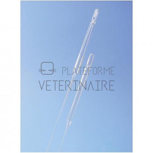 PIPETTE PASTEUR STERILE GRADUEE PE 7 ML / BULBE 3 ML (X 500)