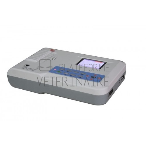 ELECTROCARDIOGRAPHE 3 PISTES ECG300G