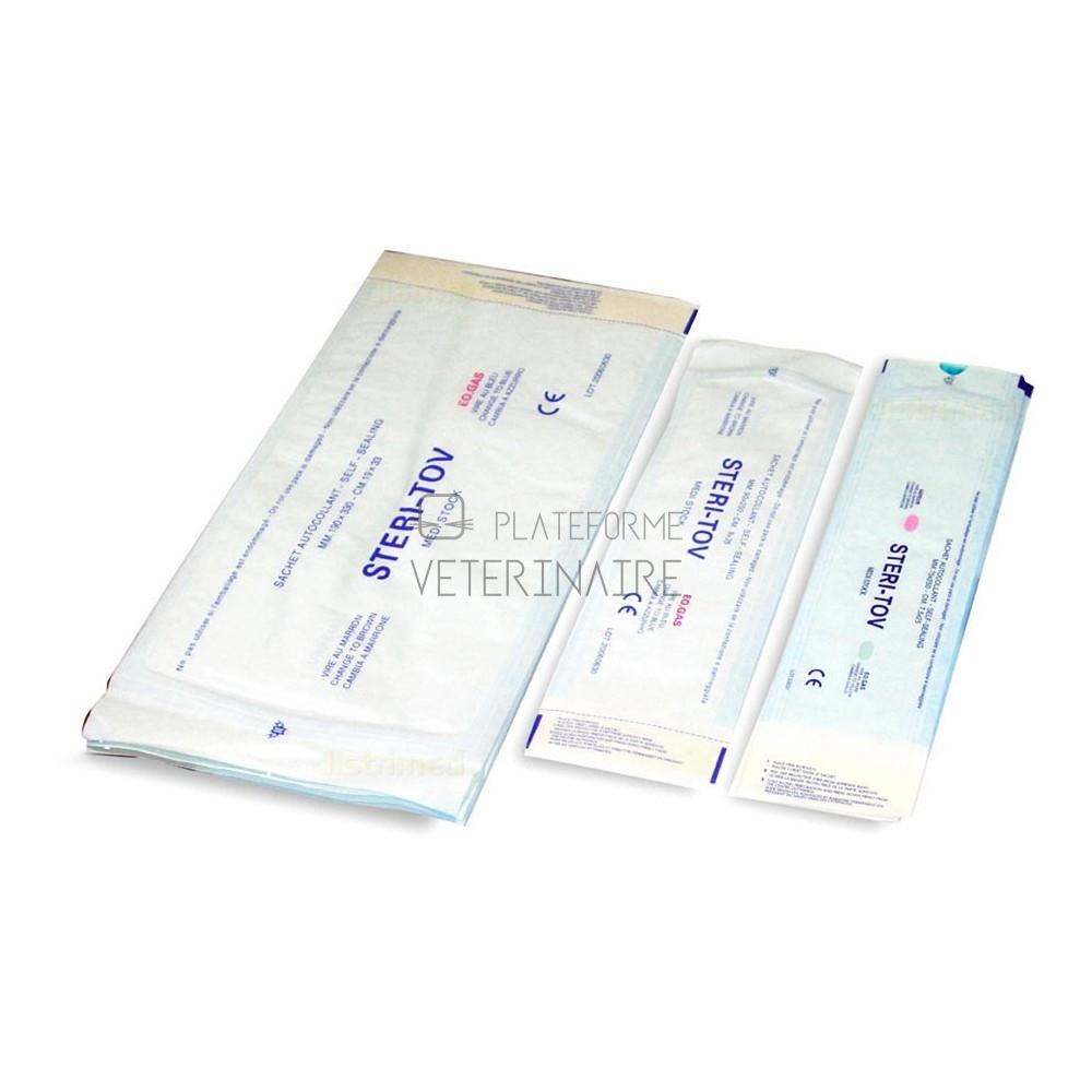 SACHET STERILISATION AUTOCOLLANT 9 X 16,5 CM (9 X 200)