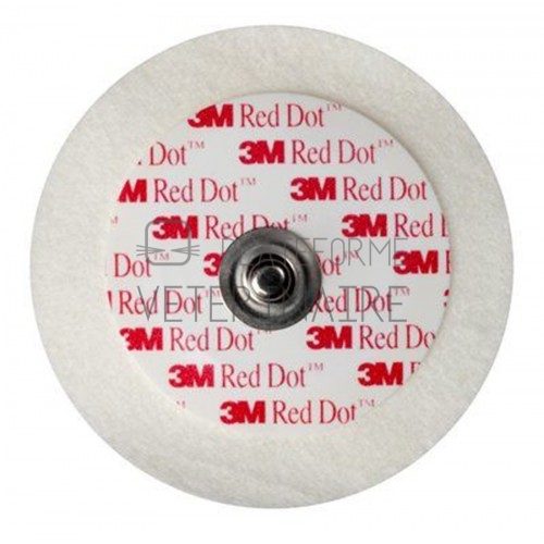ELECTRODE LONGUE DUREE 3M RED DOT (CARD/REANIM.) (X 1000)
