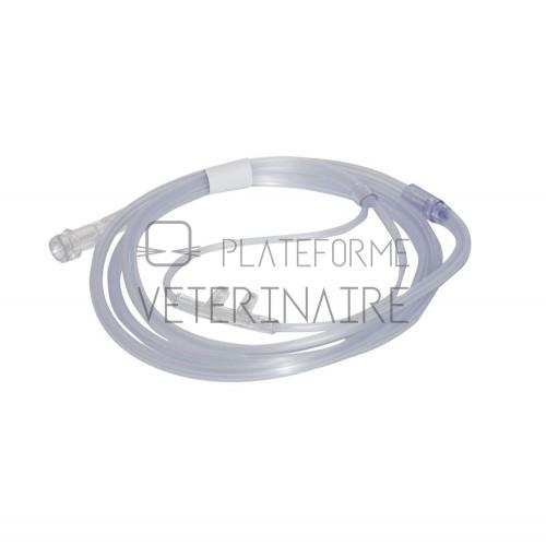 LUNETTE A OXYGENE ADULTE A/TUBE 2M (X 50)