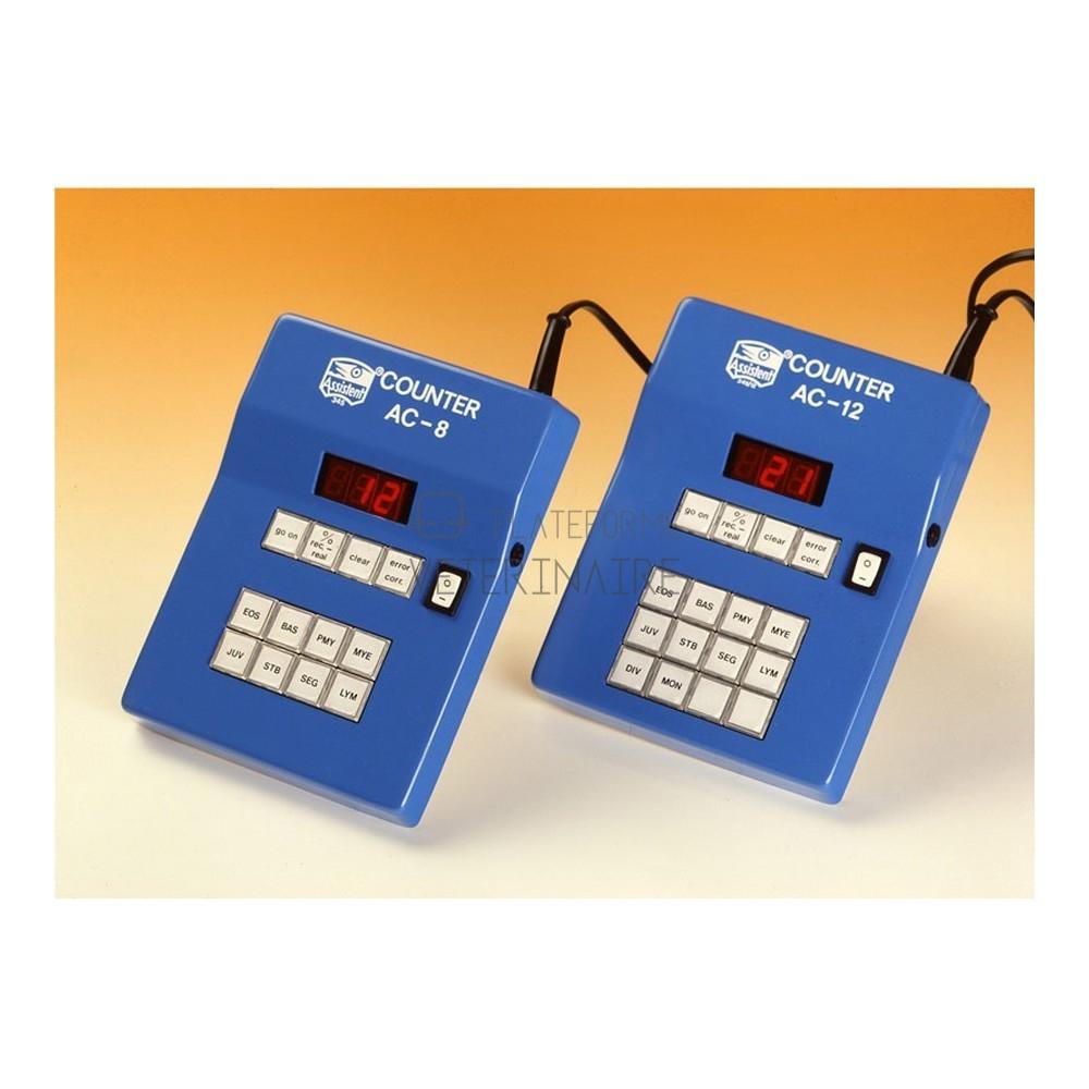 COMPTEUR ELECTRONIQUE DE CELLULES SANGUINES 8 TOUCHES