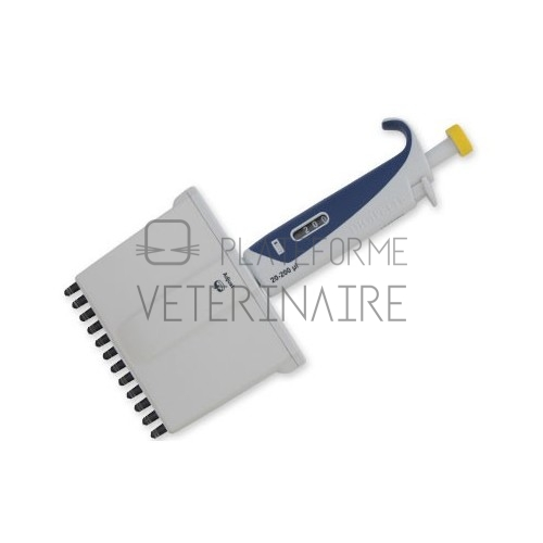 MICROPIPETTE 12 CANAUX AUTOCLAVABLE  20-200 UL