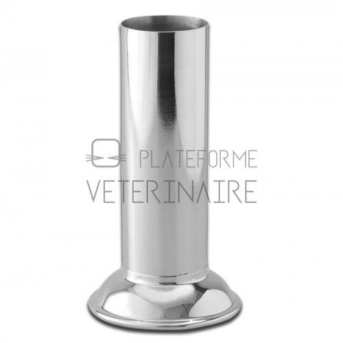 EPROUVETTE PORTE PINCE A SERVIR INOX D.4 X H.23 CM
