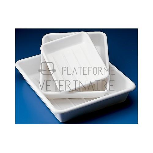 CUVETTE PVC BLANC 520 X 420 MM
