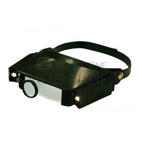 LUNETTE LOUPE - GROSSISSEMENT VARIABLE 1,8 A 4,8