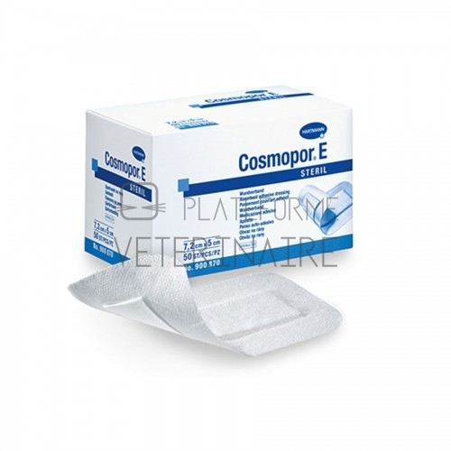PANSEMENT COSMOPOR E ADHESIF ABSORB.STER. 15 X 8 CM (X 25)