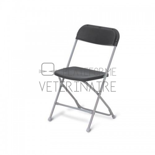 CHAISE PLIANTE ASSISE POLYPROPYLENE TUBE EXPOXY