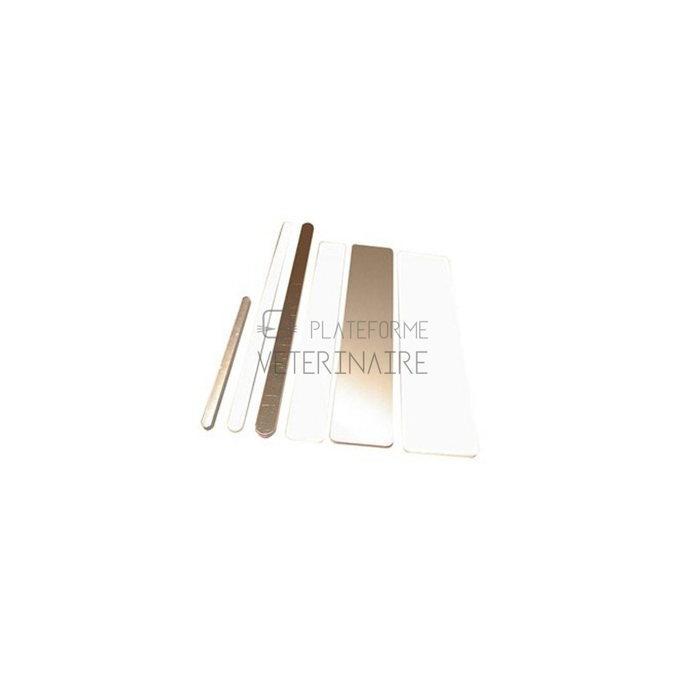 ATTELLE DR ISELIN ALUMINIUM ET MOUSSE  13 X 230 MM