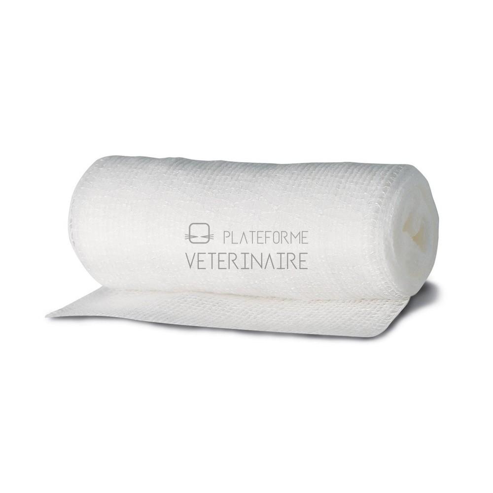 BANDE GAZE EXTENSIBLE NYLON/COTON 3M X 0,07