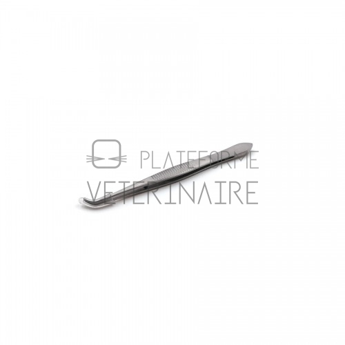 PINCE DISSECTION FINE GRAEFE A IRIS 10 CM - COURBE  S/G