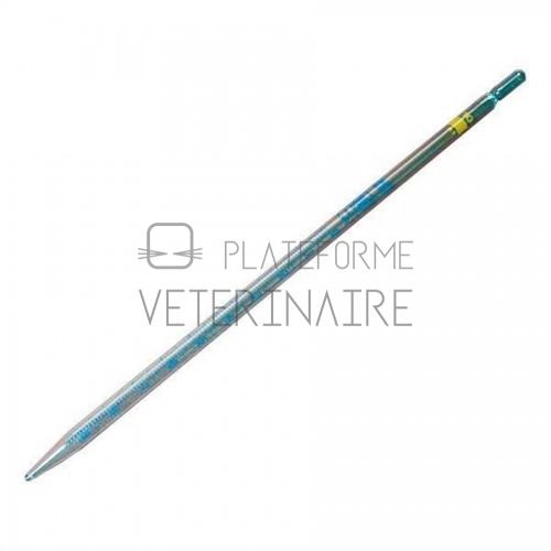 PIPETTE GRADUEE VERRE  5 ML 1/10 ECOULEMENT TOTAL