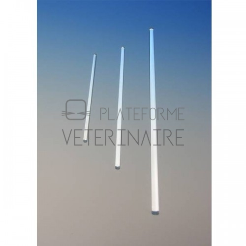 AGITATEUR VERRE DIAM. 6/7 LONG 250 MM (X 100)