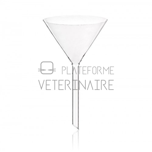 ENTONNOIR VERRE ANGLE 60° DIAM 75MM / 95ML