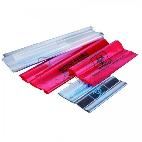 SAC PLASTIQUE AUTOCLAVABLE 121°C 33 LITRES (X 100)